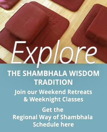 Way of Shambhala Regional Programs promobox
